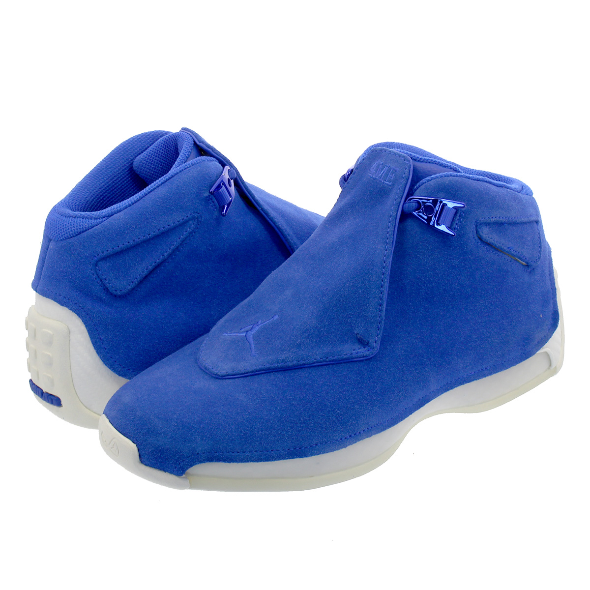 check-out bc37d e0a9b NIKE AIR JORDAN 18 RETRO Nike Air Jordan 18 nostalgic RACER BLUE/RACER  BLUE/SAIL aa2494-401