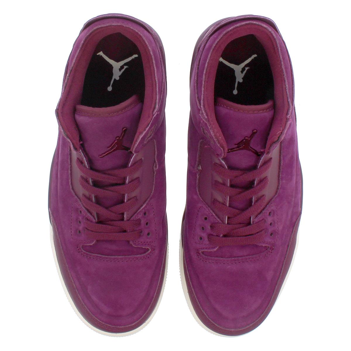80e97b284b50ff NIKE WMNS AIR JORDAN 3 RETRO SE Nike women Air Jordan 3 nostalgic SE  BORDEAUX PHANTOM ah7859-600
