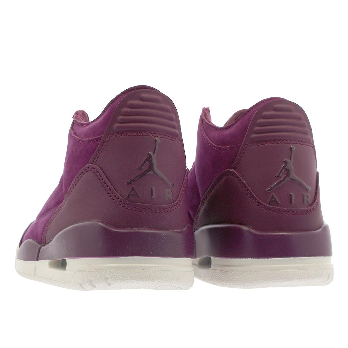 d7a6f616df3d NIKE WMNS AIR JORDAN 3 RETRO SE Nike women Air Jordan 3 nostalgic SE  BORDEAUX PHANTOM ah7859-600