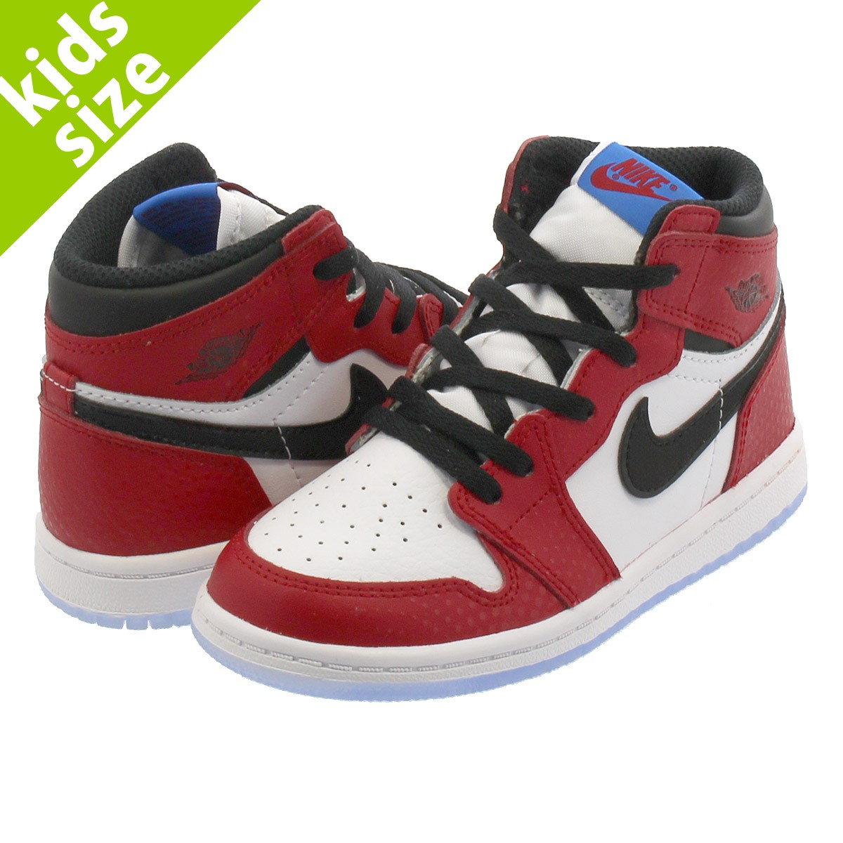 989b811cdf5568 NIKE AIR JORDAN 1 RETRO HIGH OG BT Nike Air Jordan 1 nostalgic high OG BT  GYM RED WHITE PHOTO BLUE BLACK aq2665-602
