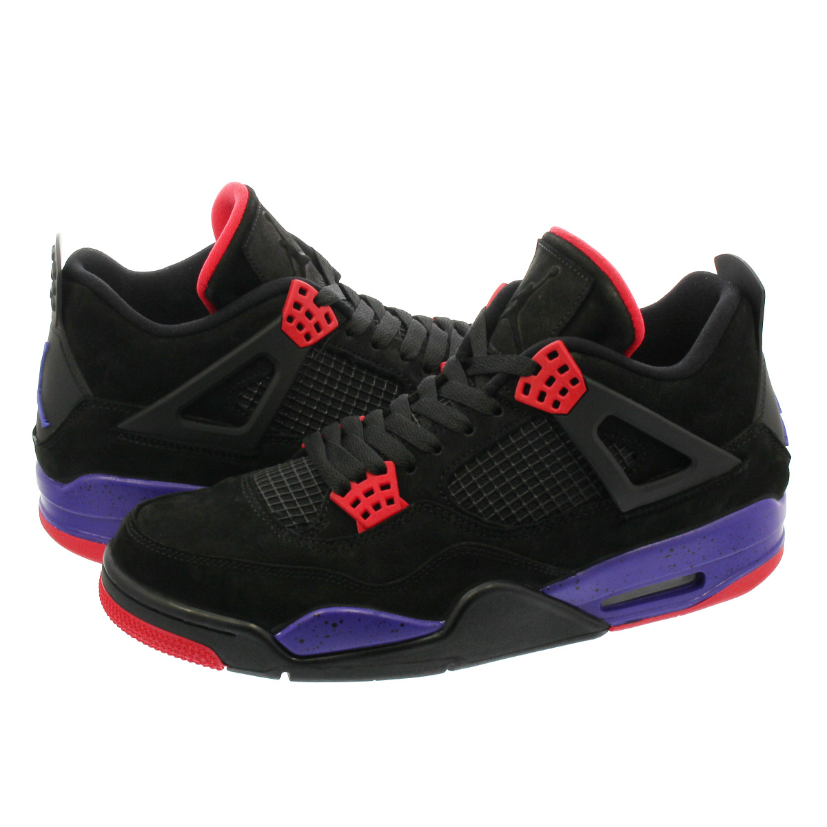 competitive price 8611c 67b96 NIKE AIR JORDAN 4 RETRO Nike Air Jordan 4 nostalgic NRG BLACK COURT PURPLE UNIVERSITY  RED aq3816-065