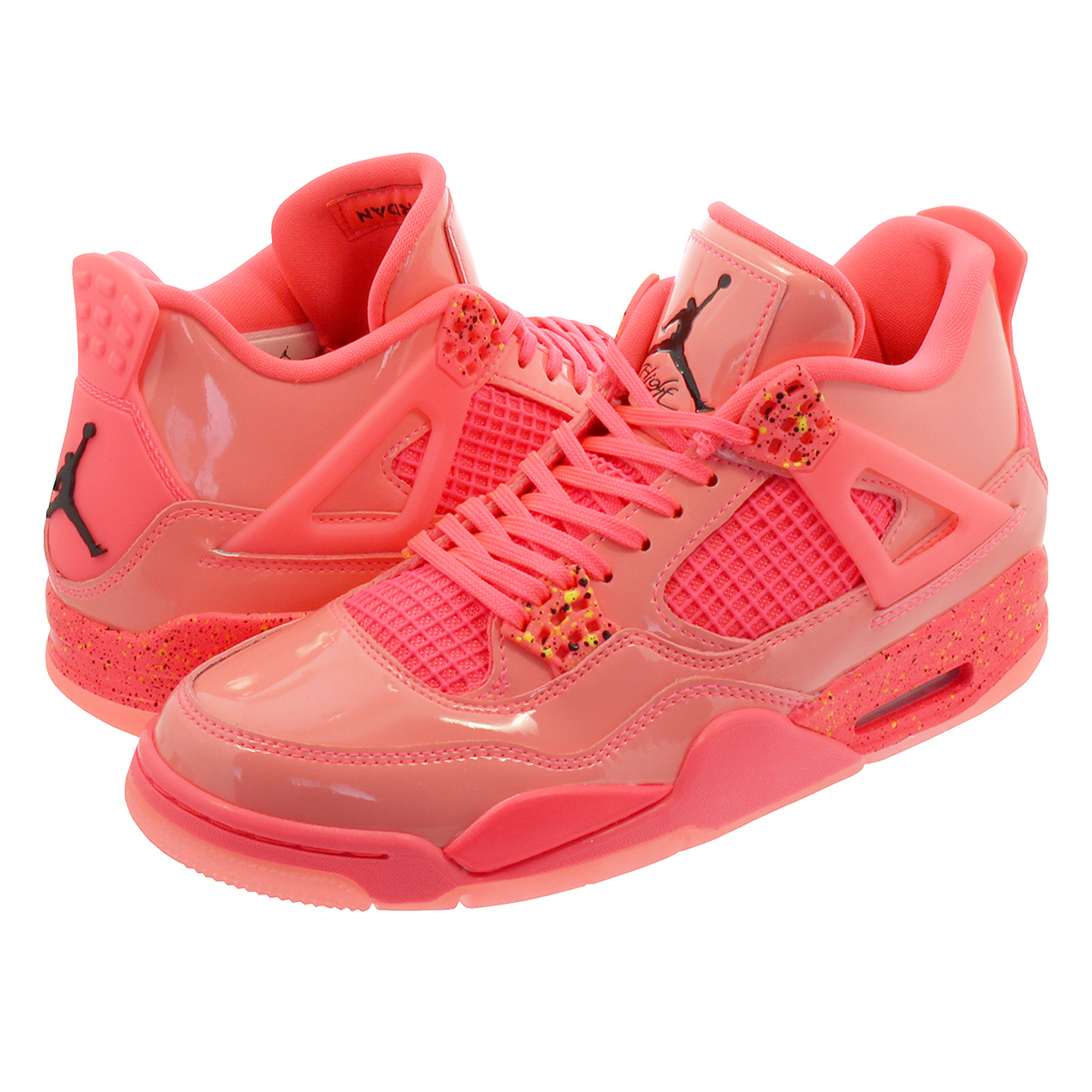 100762d77c2 NIKE WMNS AIR JORDAN 4 RETRO NRG Nike women Air Jordan 4 nostalgic NRG HOT  PUNCH ...