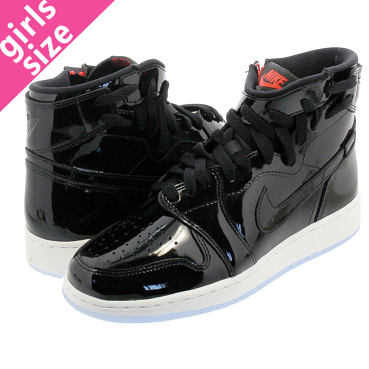 483016787fc4f8 NIKE WMNS AIR JORDAN 1 REBEL XX Nike women Air Jordan 1 level XX  BLACK BLACK INFRARED 23 WHITE ar5599-001