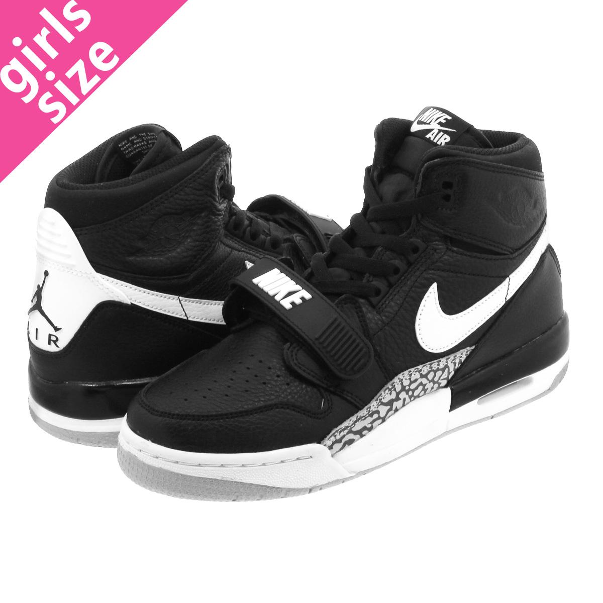 new product fc456 3842d NIKE AIR JORDAN LEGACY 312 GS Nike Air Jordan Legacy 312 GS BLACK WHITE  at4040 ...