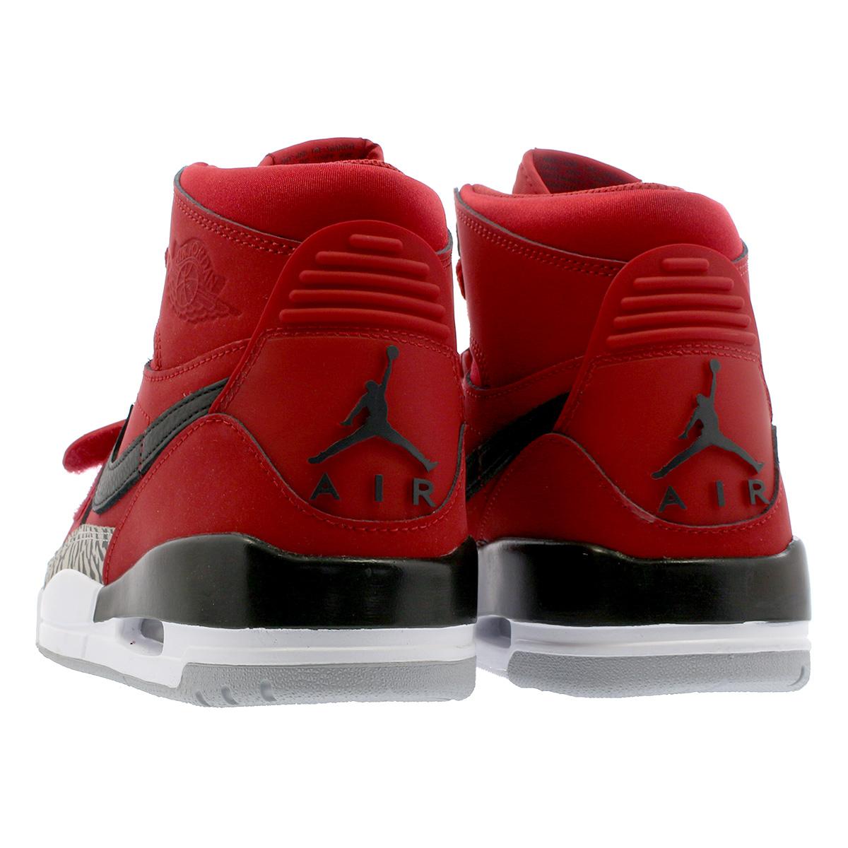 e39b67068f5d8e NIKE AIR JORDAN LEGACY 312 Nike Air Jordan Legacy 312 VARSITY RED BLACK WHITE  av3922-601