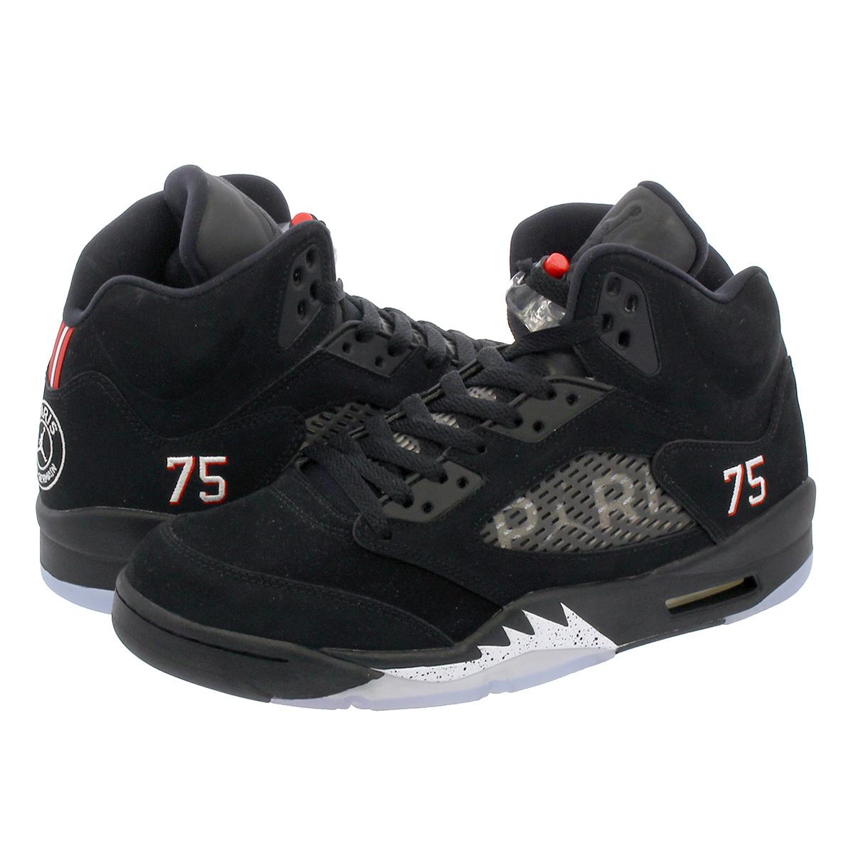 9ca137bad3ae0 NIKE AIR JORDAN 5 RETRO BCFC Nike Air Jordan 5 nostalgic  BLACK/WHITE/CHALLENGE ...