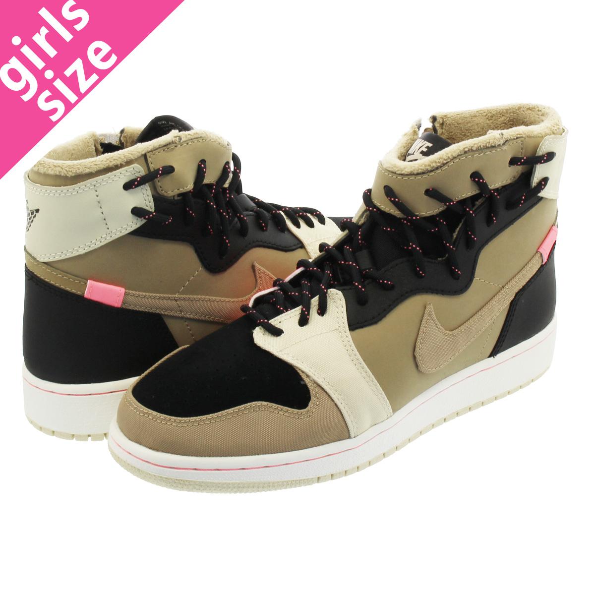 63e0794c13d82e NIKE WMNS AIR JORDAN 1 REBEL XX UT PK Nike women Air Jordan 1 level XX  PARACHUTE BEIGE BLACK bq6481-200