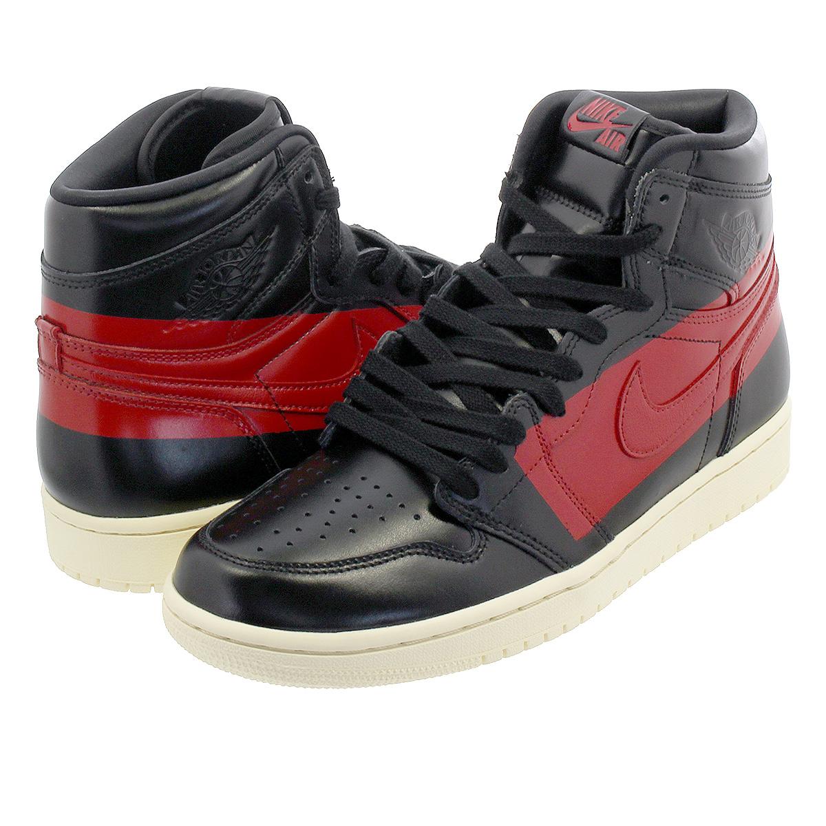 on sale best quality casual shoes NIKE AIR JORDAN 1 RETRO HIGH OG DEFIANT Nike Air Jordan 1 nostalgic high OG  ディファイント BLACK/UNIVERSITY RED/MUSLIN bq6682-006