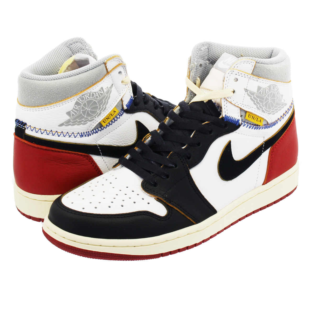 NIKE AIR JORDAN 1 RETRO HIGH OG NRG 【UNION】 ナイキ エア ジョーダン 1 レトロ ハイ OG NRG ユニオン WHITE/VARSITY RED/WOLF GREY/BLACK bv1300-106