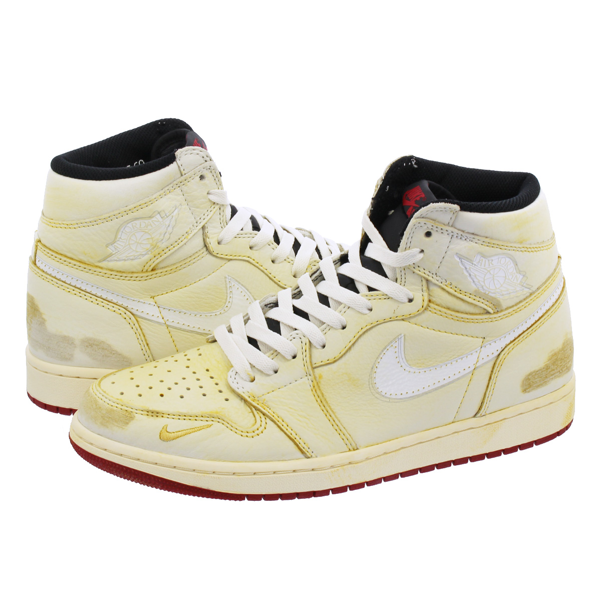 NIKE AIR JORDAN 1 RETRO HIGH OG 【NIGEL SYLVESTER】 SAIL/VARSITY RED/REFLECT SILVER/WHITE bv1803-106