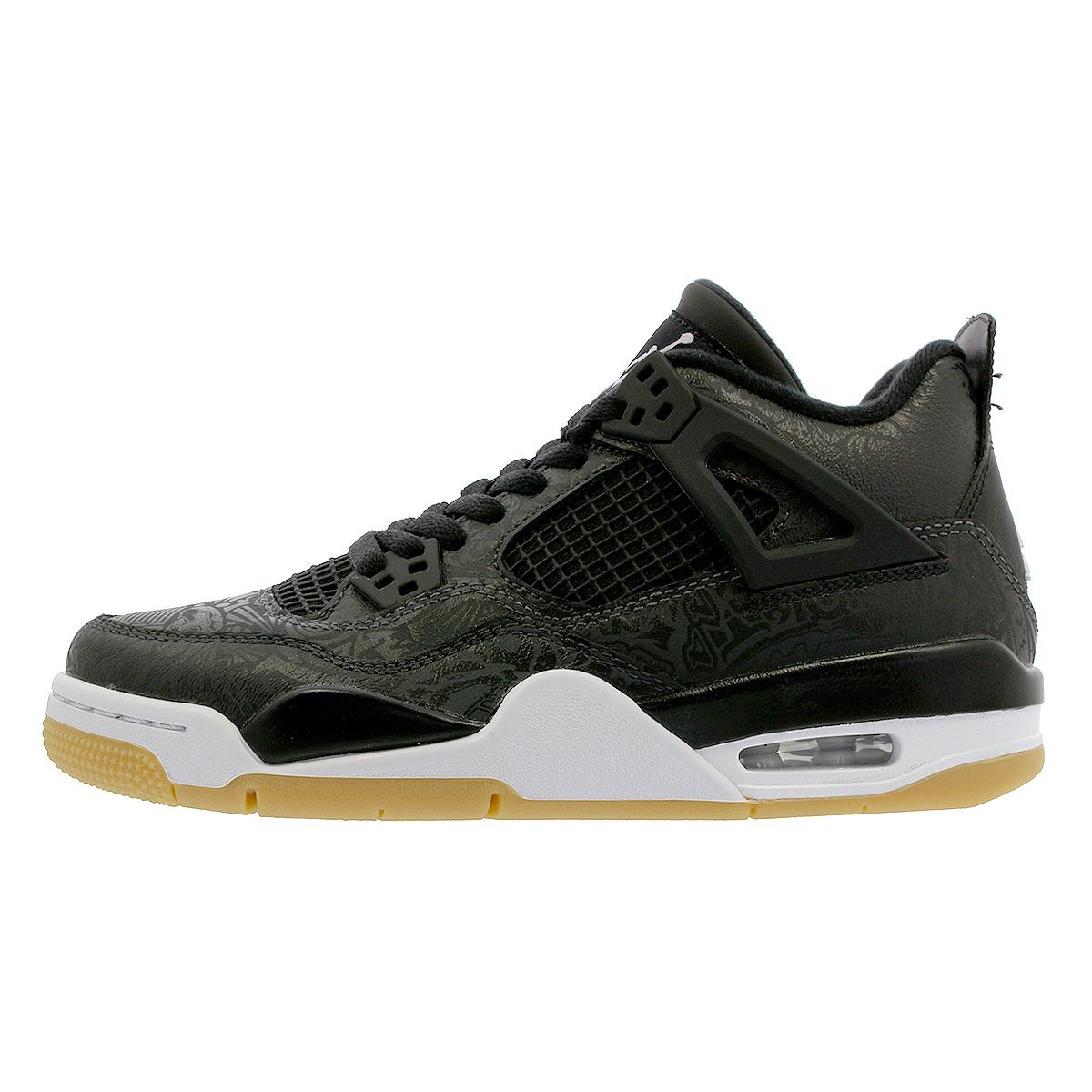 newest 89106 605ef NIKE AIR JORDAN 4 RETRO SE GS Nike Air Jordan 4 nostalgic SE GS BLACK WHITE GUM  LIGHT BROWN ci2970-001