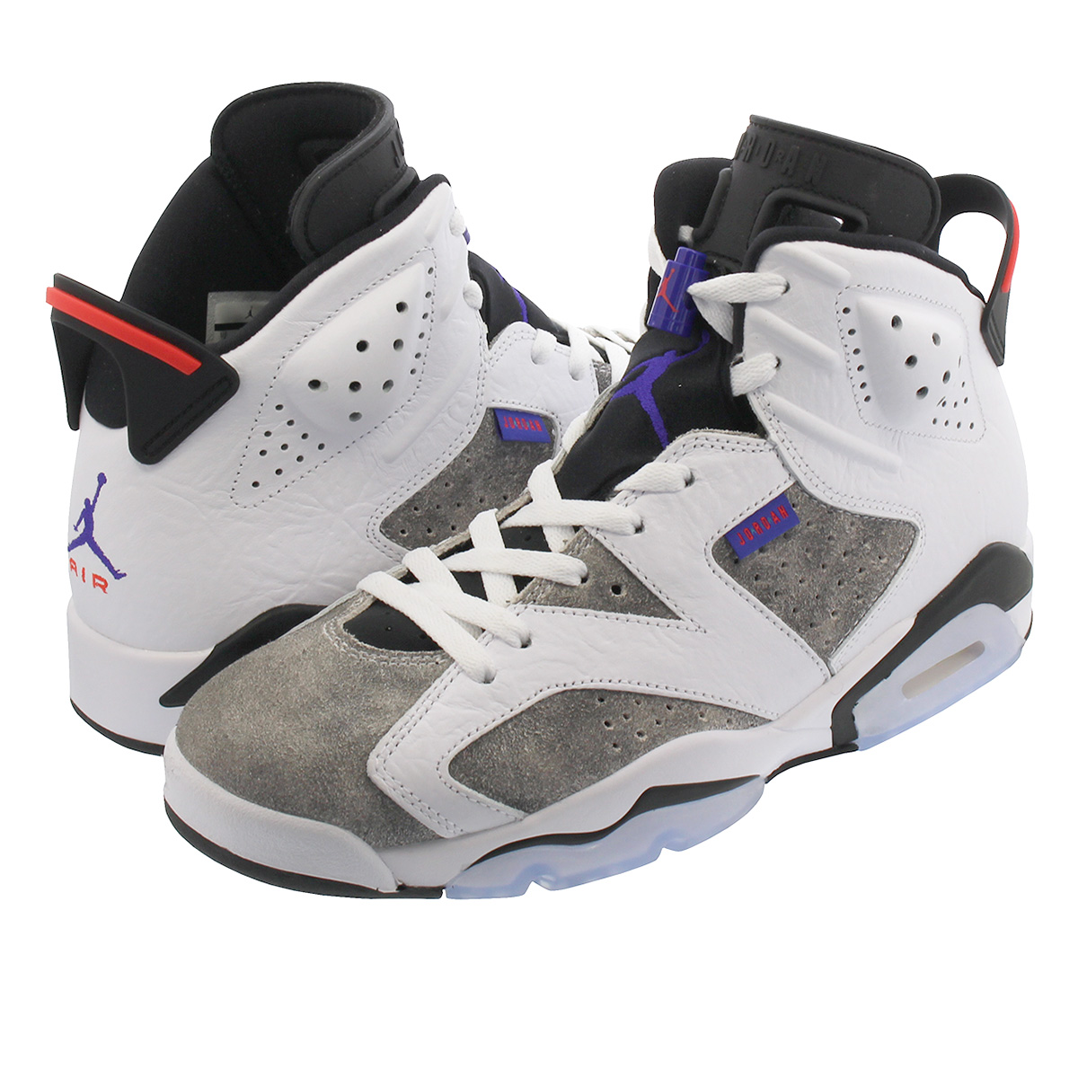 dab1e864b75 NIKE AIR JORDAN 6 RETRO Nike Air Jordan 6 nostalgic WHITE/BLACK/INFRARED 23  ...