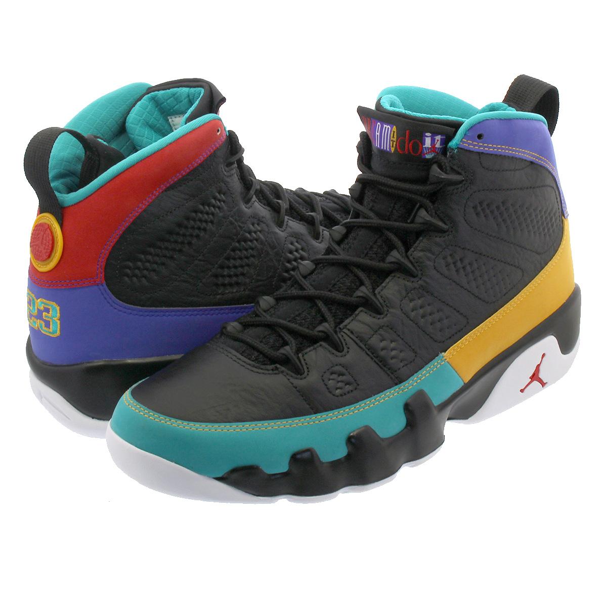 12e730be444 NIKE AIR JORDAN 9 RETRO Nike air Jordan 9 nostalgic BLACK/UNIVERSITY RED/ DARK ...