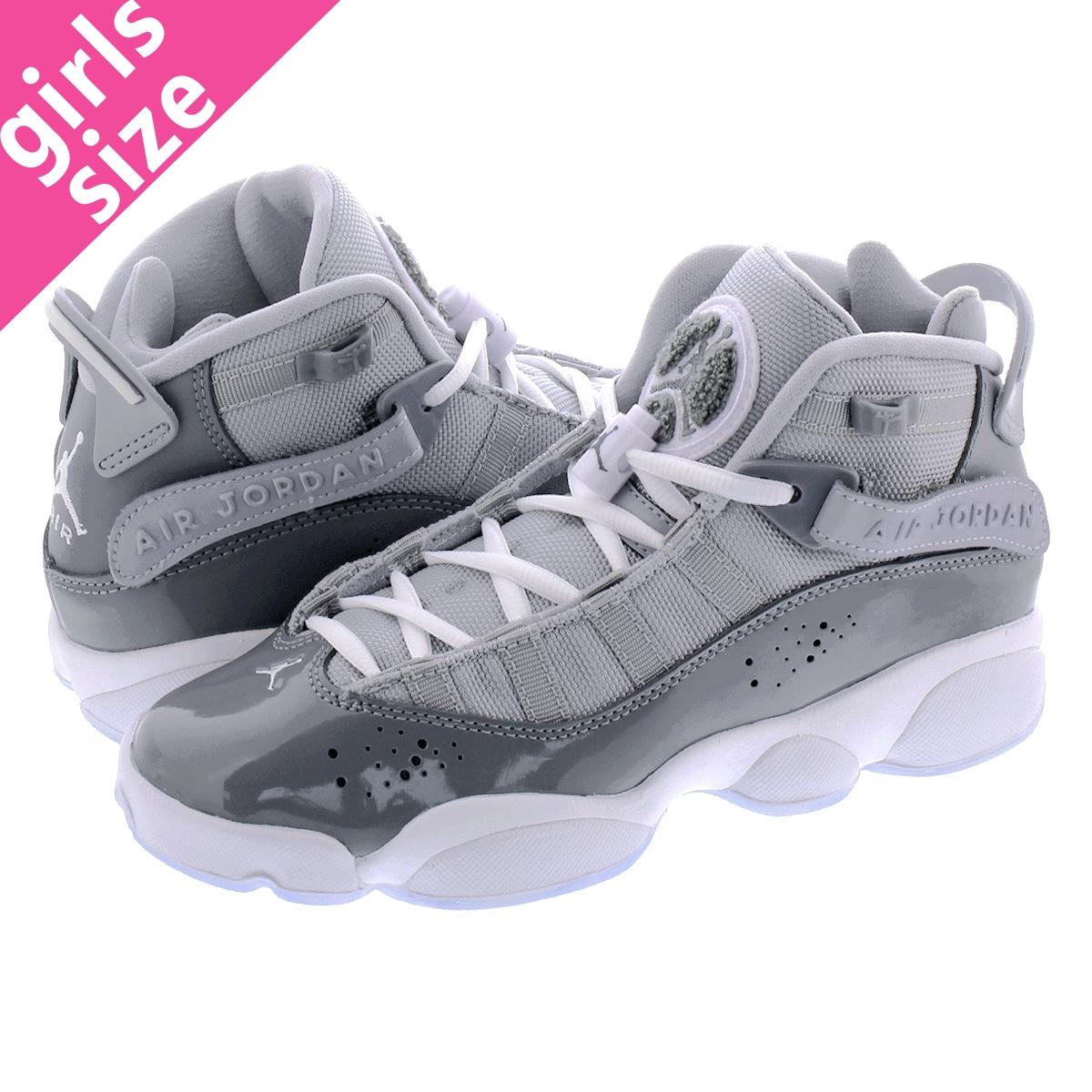 meet 50f5c f9472 NIKE JORDAN 6 RINGS BG Nike Air Jordan 6 RINGS Co.,Ltd. BG COOL  GREY/WHITE/WOLF GREY 323,419-015