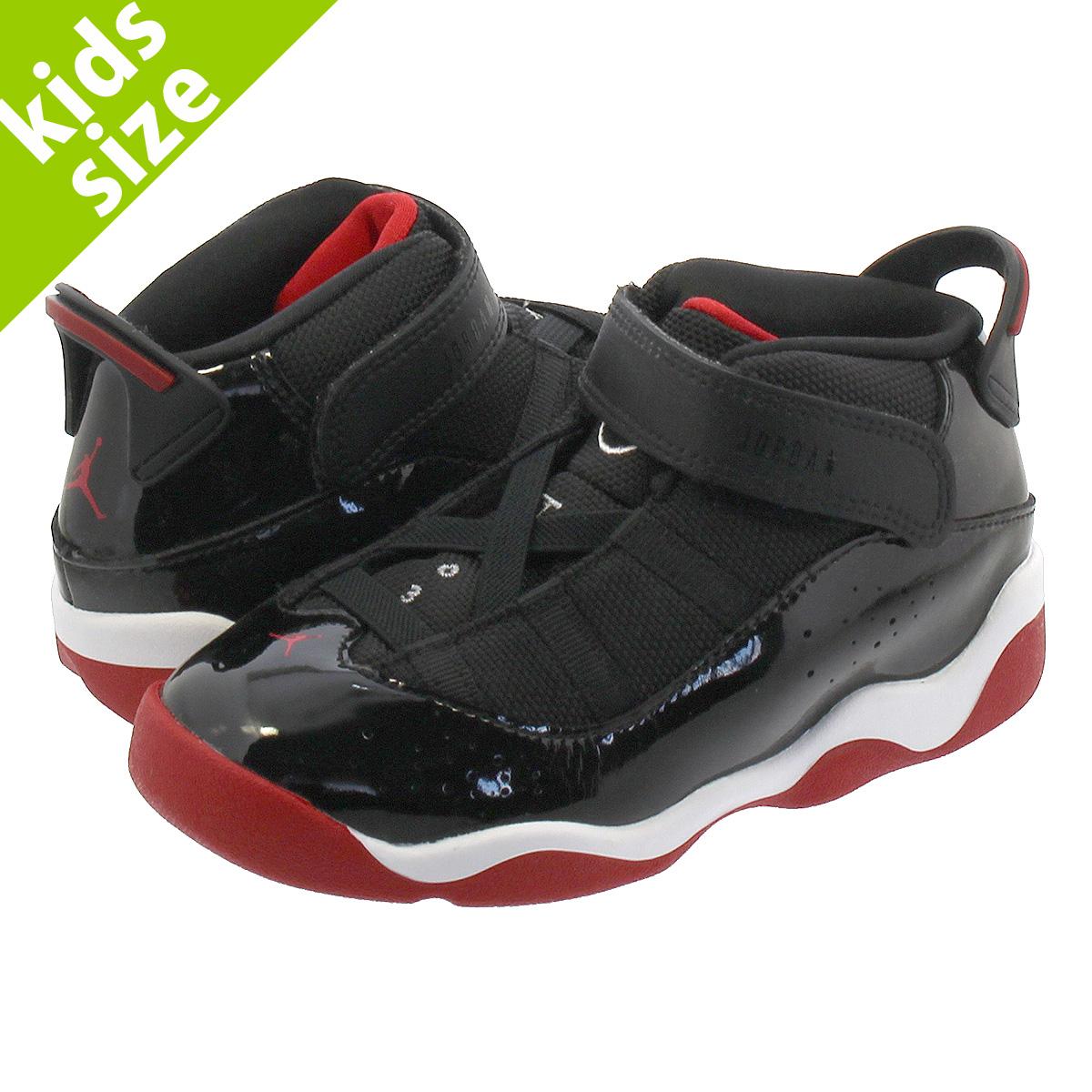 hot sale online 16bed 9894d NIKE JORDAN 6 RINGS TD Nike Jordan 6 RINGS Co.,Ltd. TD BLACK/VARSITY  RED/WHITE 323,420-062