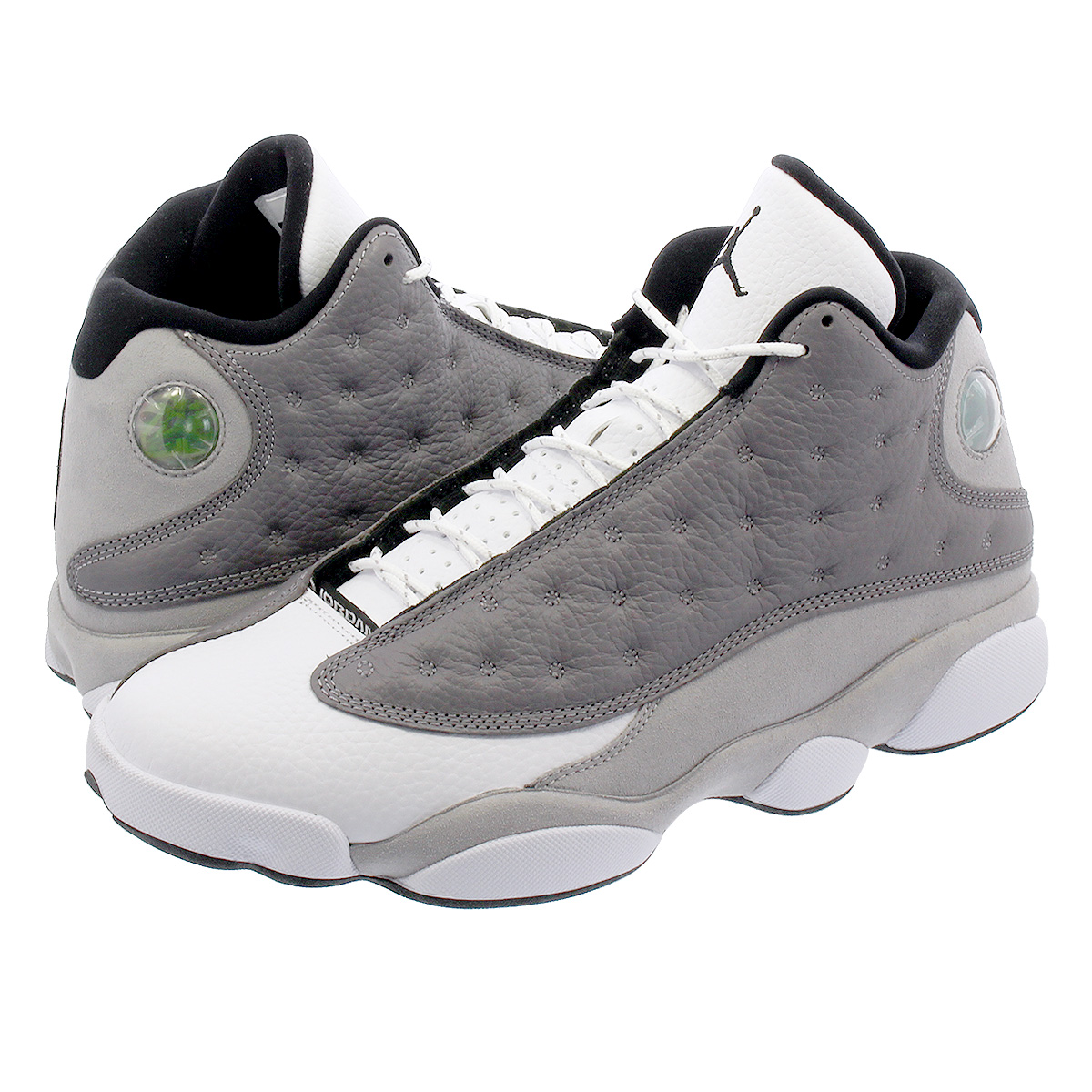 3e161d0289c1ca NIKE AIR JORDAN 13 RETRO Nike Air Jordan 13 nostalgic ATMOSPHERE GREY BLACK WHITE  414