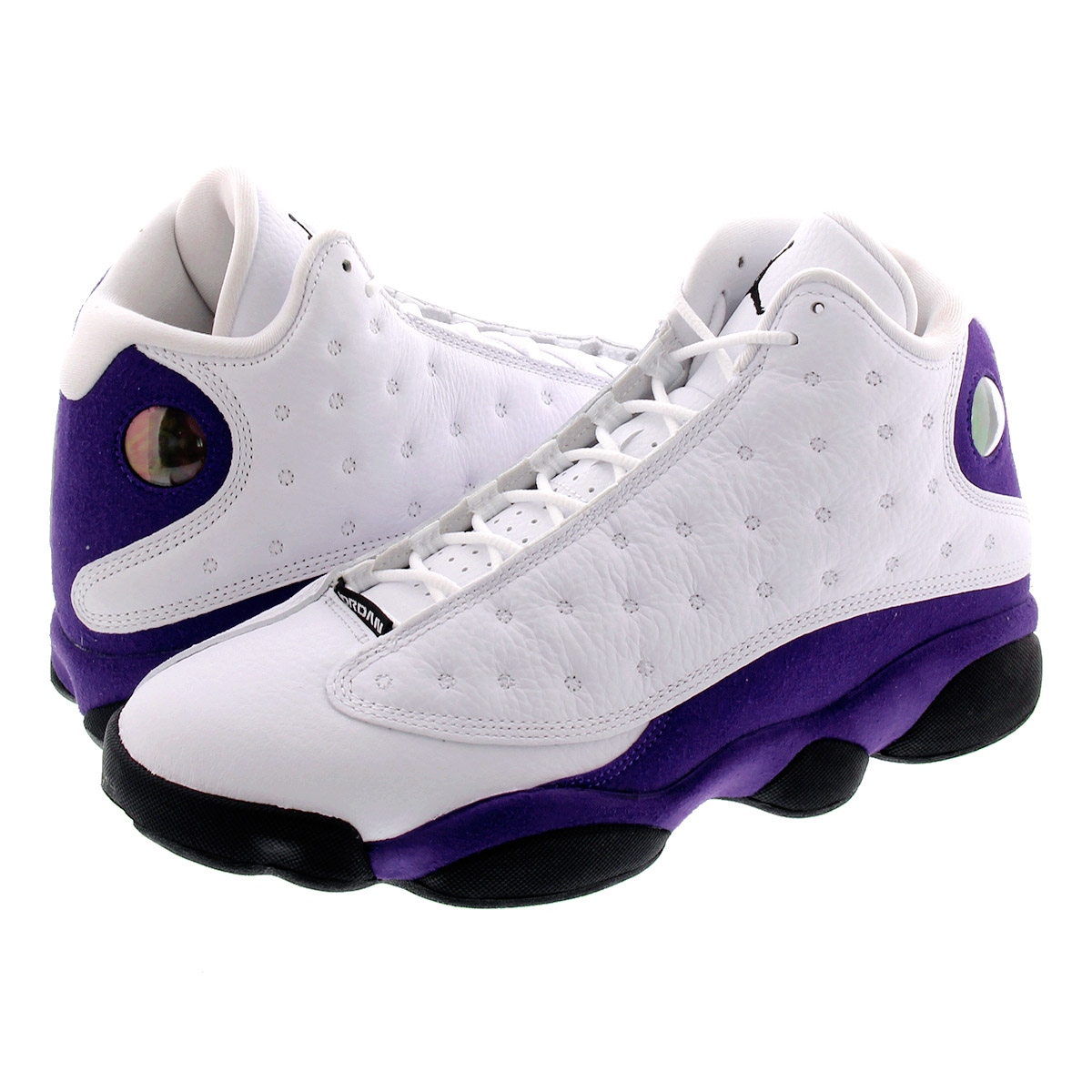 NIKE AIR JORDAN 13 RETRO ナイキ エア ジョーダン 13 レトロ WHITE/BLACK/COURT PURPLE 414571-105