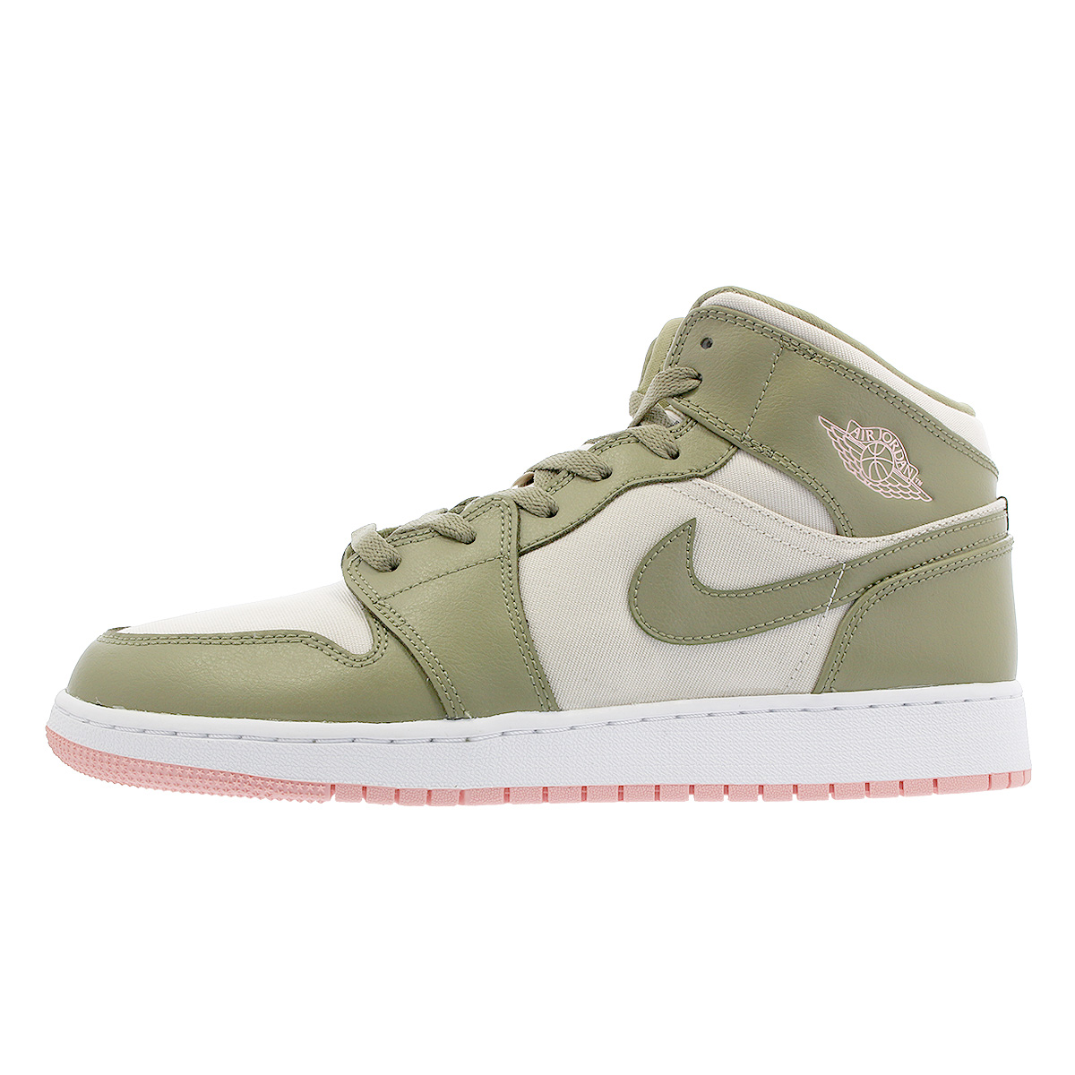 Nike Air Jordan 1 Mid Gg Nike Air Jordan 1 Mid Gg Trooper Bleached Coral Light Orewood Brown 555 112 225