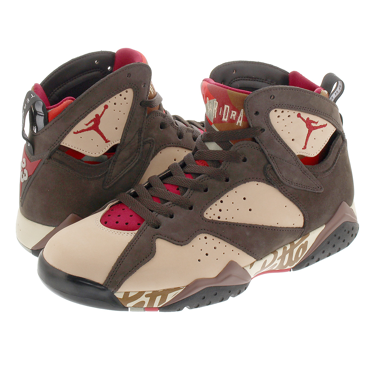 5f69a662fc414 NIKE AIR JORDAN 7 RETRO PATTA Nike Air Jordan 7 レトロパタ SHIMMER/TOUGH RED/ ...