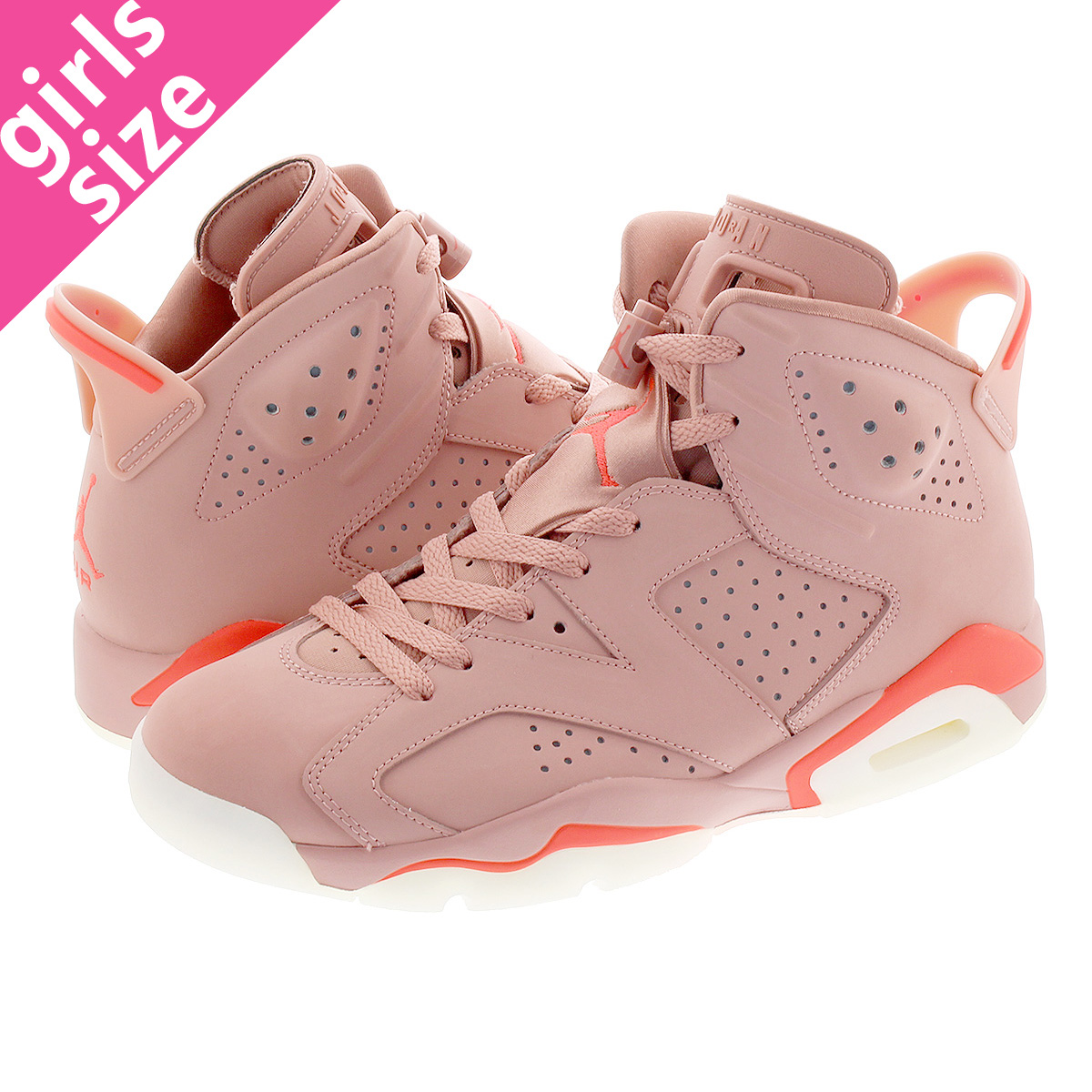 new style 9c776 2b969 NIKE WMNS AIR JORDAN 6 RETRO NRG Nike women Air Jordan 6 nostalgic NRG RUST  PINK/BRIGHT CRIMSON ci0550-600