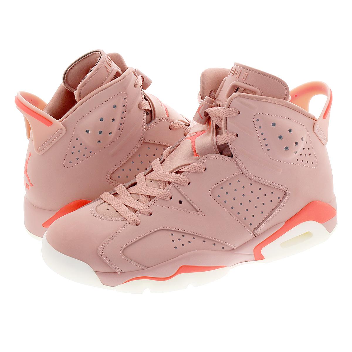 new style 4ee2e 90c06 NIKE WMNS AIR JORDAN 6 RETRO NRG Nike women Air Jordan 6 nostalgic NRG RUST  PINK/BRIGHT CRIMSON ci0550-600
