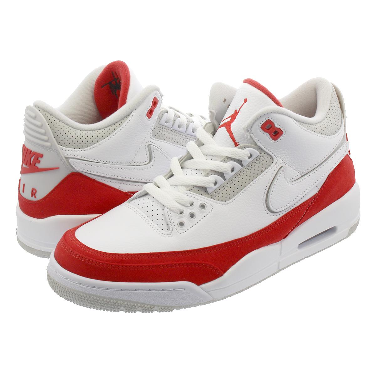 official photos 97a24 a0562 NIKE AIR JORDAN 3 TINKER Nike Air Jordan 3 ティンカー WHITE/UNIVERSITY  RED/NEUTRAL GREY cj0939-100