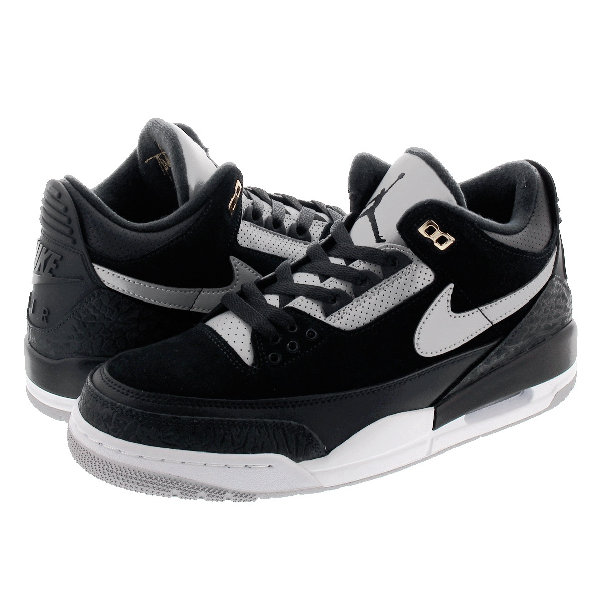 on sale 62920 5c0d9 NIKE AIR JORDAN 3 TINKER Nike Air Jordan 3 ティンカー BLACK/CEMENT GREY  ck4348-007