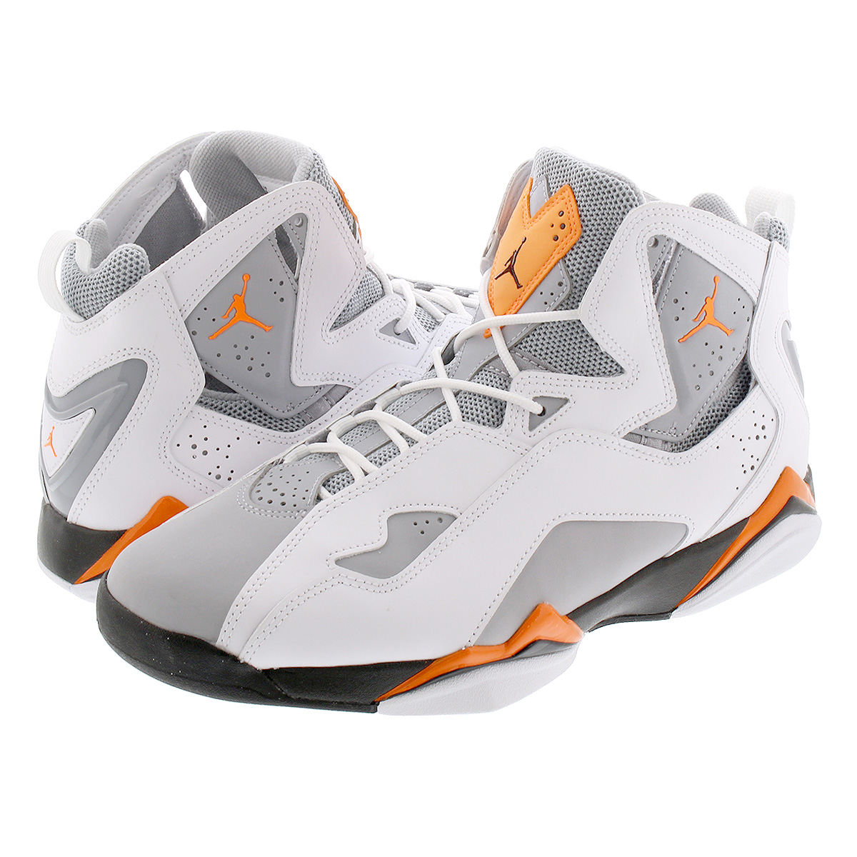 NIKE JORDAN TRUE FLIGHT ナイキ ジョーダン トゥルー フライト WHITE/TOTAL ORANGE/WOLF GREY 342964-118