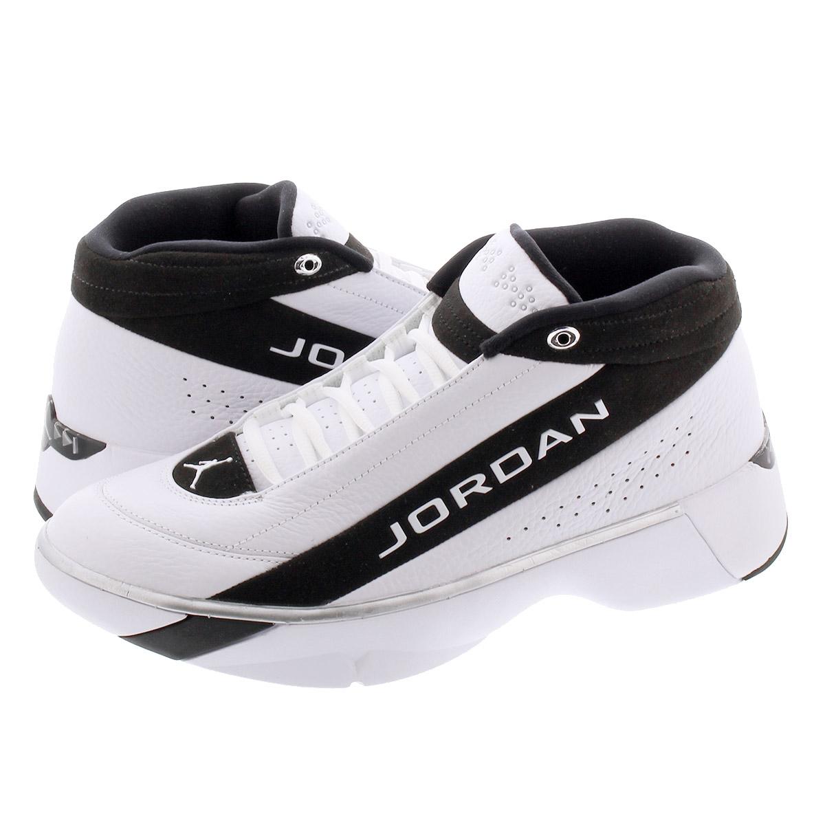 【ビッグ・スモールサイズ】 NIKE JORDAN TEAM SHOWCASE ナイキ ジョーダン チーム ショーケース WHITE/WHITE/BLACK cd4150-100