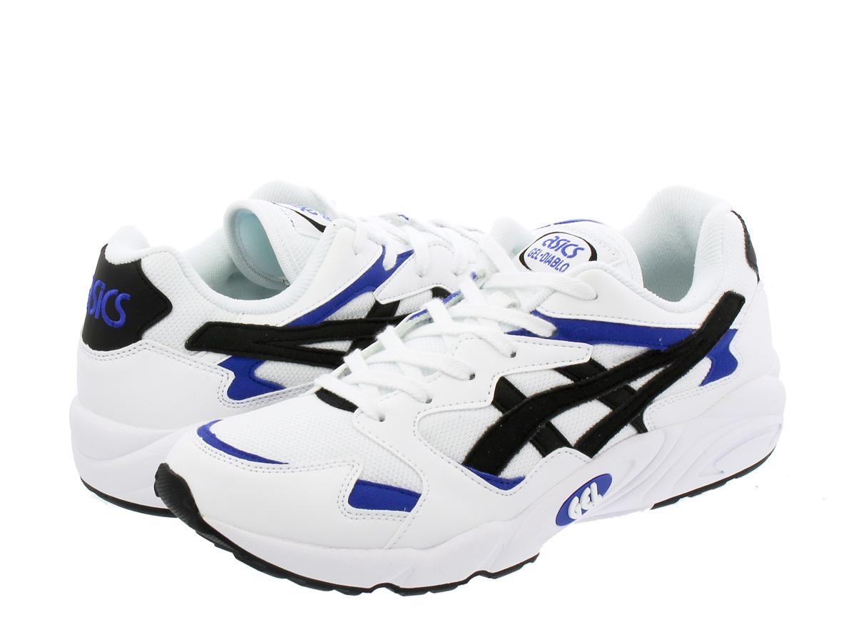 ASICS Tiger GEL-DIABLO アシックス タイガー ゲル ディアブロ WHITE/BLACK hy7h1-0190