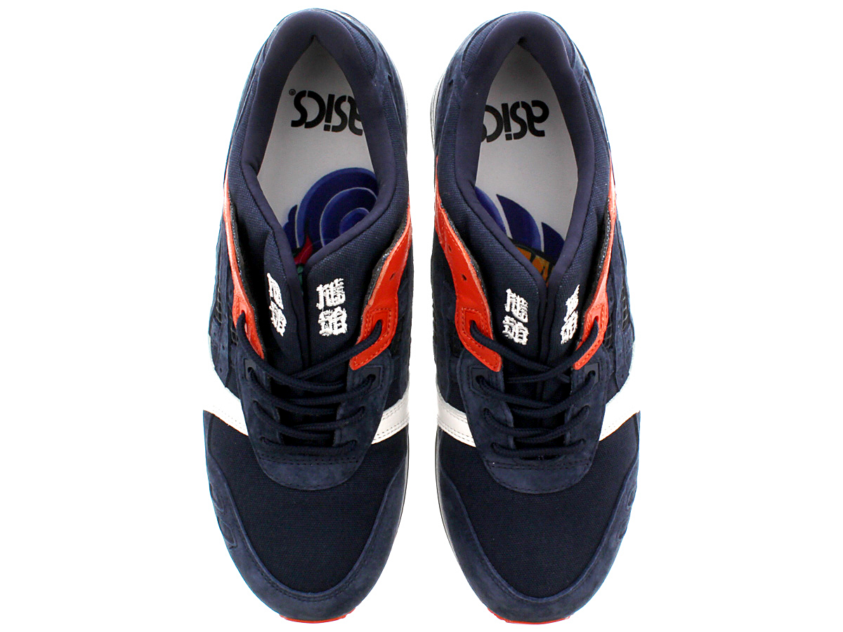 "Asics Tiger GEL-LYTE III ""HIKESHI HANTEN"" for KICKS LAB. ASICS tiger gel light 3 DARK NAVY/DARK NAVY"