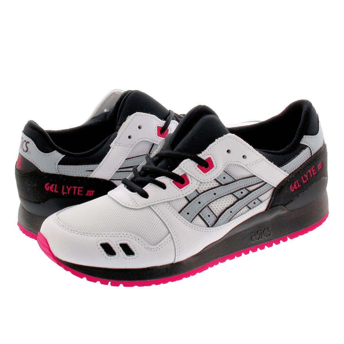 Asics Gel Lyte Iii Shoes Red Grey White spanish