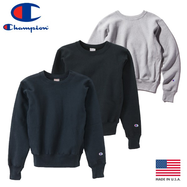 moderate cost new style most reliable CHAMPION REVERSE WEAVE CREW NECK SWEAT SHIRT champion reverse weave  crewneck Sweatshirt 3 colors
