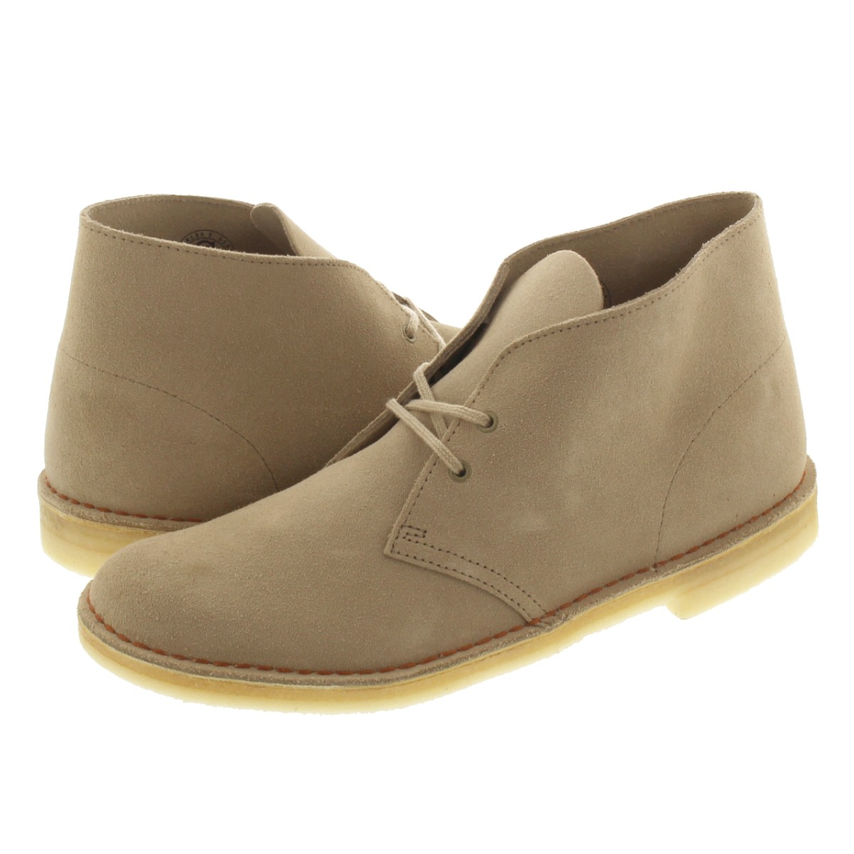 6ae6c3a1447 CLARKS DESERT BOOT kulaki desert boots SAND SUEDE 26138235