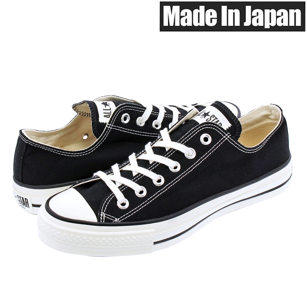 2f94d54295e9 SELECT SHOP LOWTEX  CONVERSE CANVAS ALL STAR J OX Converse all-stars J OX  BLACK