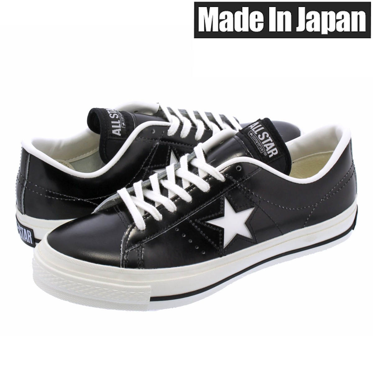 f49949d5d702 SELECT SHOP LOWTEX  CONVERSE ONE STAR J BLACK WHITE  MADE IN JAPAN ...