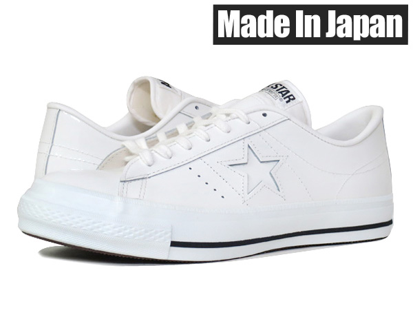 CONVERSE ONE STAR J PL匡威一明星J PL WHITE/BLACK
