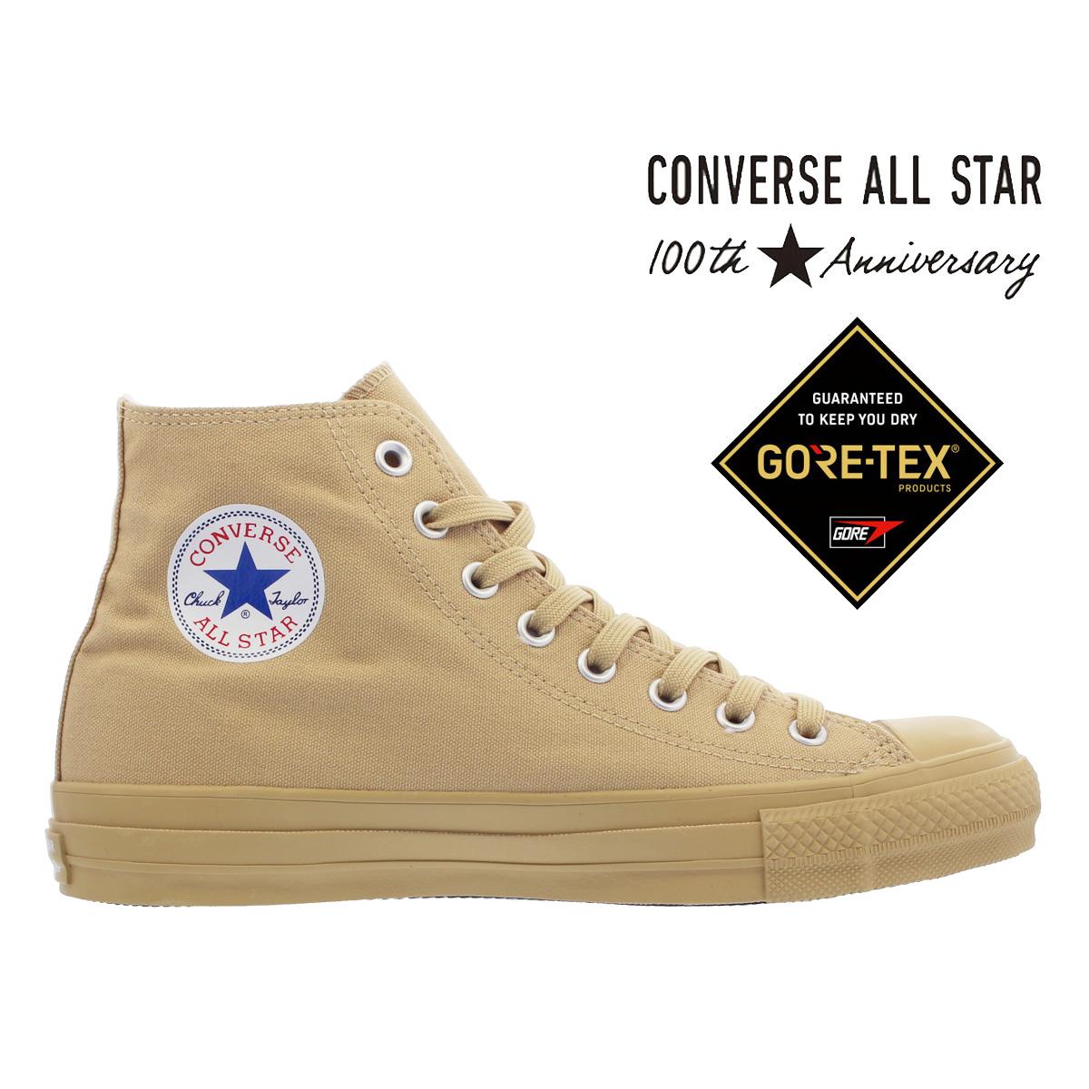 CONVERSE ALL STAR 100 GORE-TEX MN HI 【100周年】 【100th ANNIVERSARY】 コンバース オールスター 100 ゴア テックス MN HI BEIGE 32069979