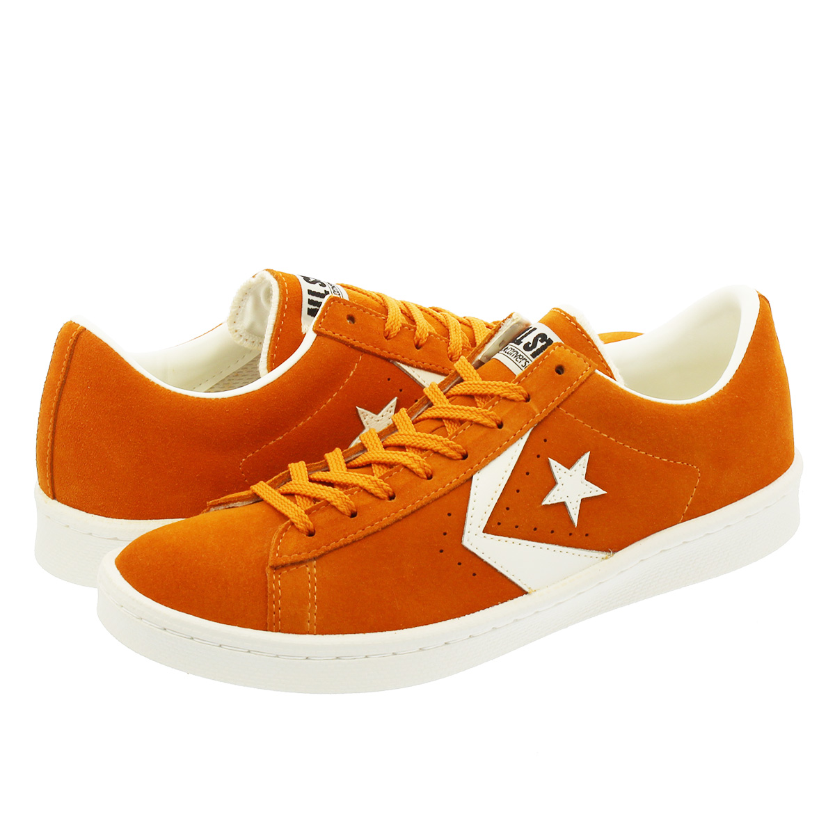 CONVERSE PRO LEATHER SUEDE OX コンバース プロ レザー スエード OX ORANGE