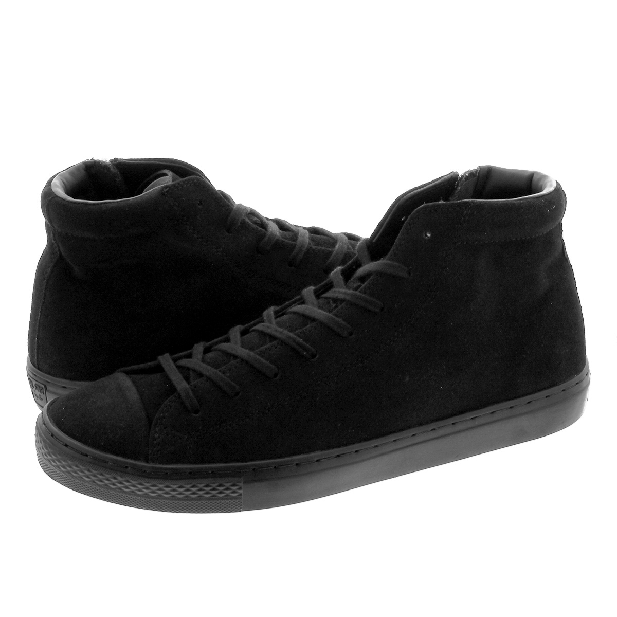 CONVERSE ALL STAR COUPE SUEDE Z MID コンバース オールスター クップ スエード Z ミッド BLACK 31301741
