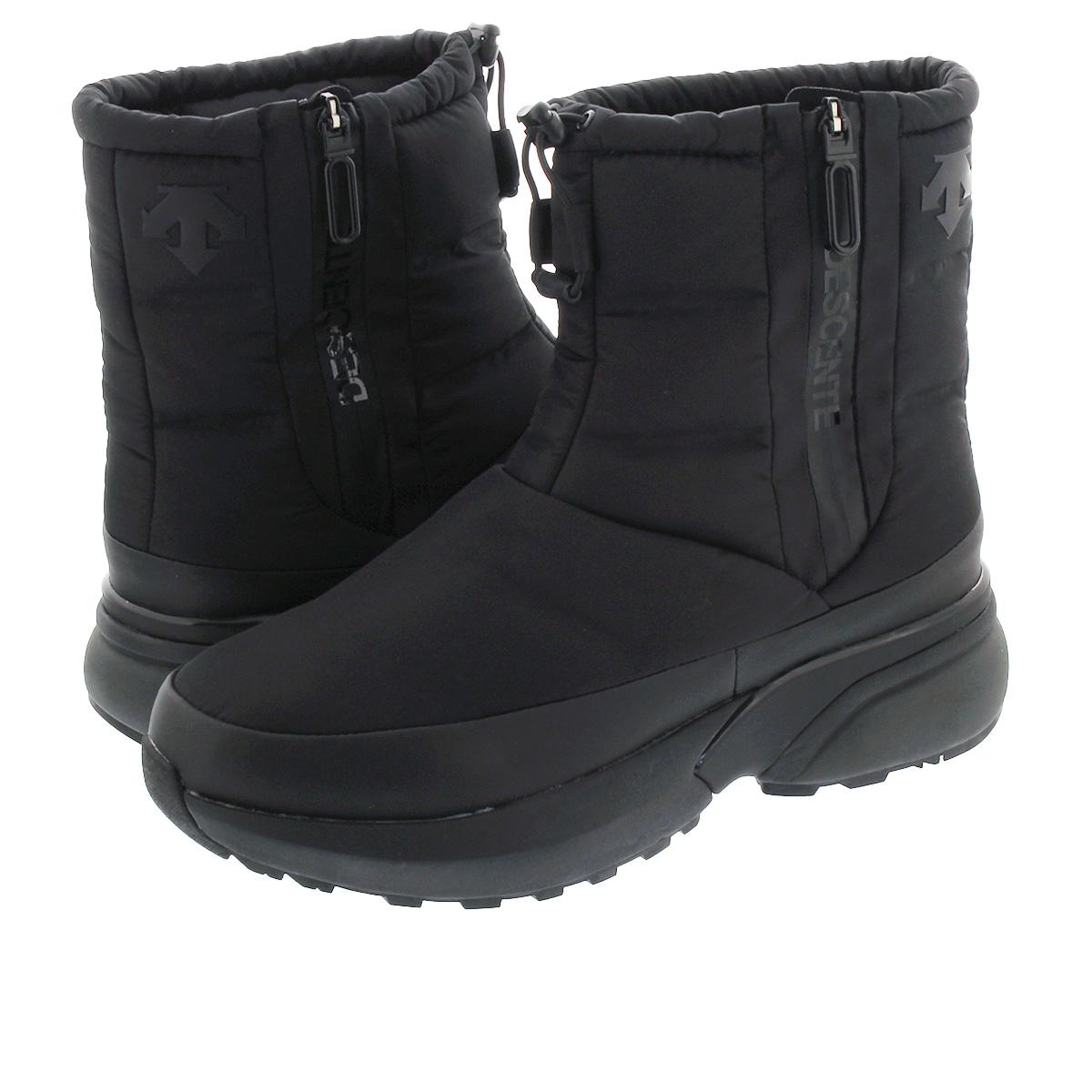 送料無料 DESCENTE デサント ブーツ スニーカー シューズ 靴 超目玉 メンズ 年間定番 レディース スノー dm1qjd10bk ACTIVE BOOTS アクティブ ウィンター 防水 WINTER ブラック BLACK アウトドア
