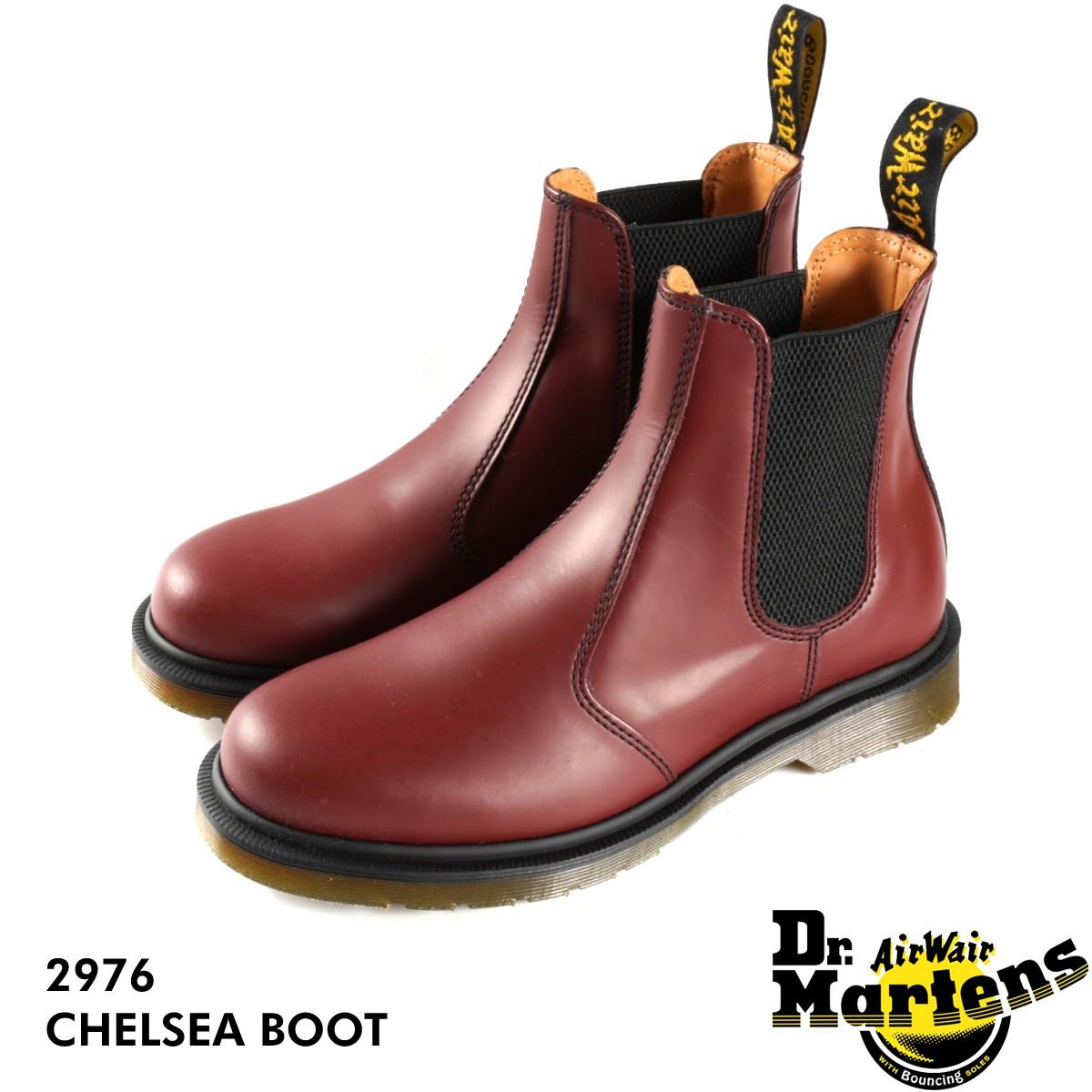 【毎日がお得!値下げプライス】 Dr.Martens CHELSEA BOOT 2976 R11853600 【メンズ】【レディース】 ドクターマーチン チェルシー ブーツ CHERRY 赤 サイドゴア