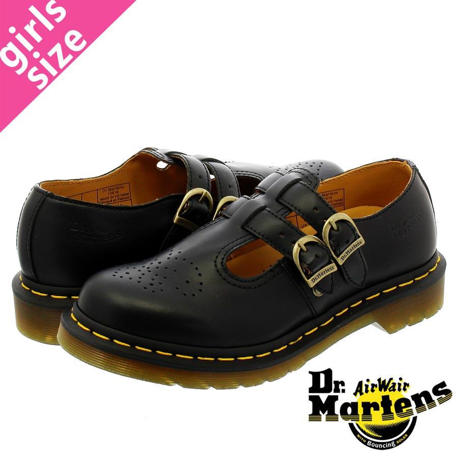 【大人気の女の子サイズ♪】 Dr.Martens MARY JANE 8065 R12916001 ドクターマーチン メリージェーン BLACK SMOOTH