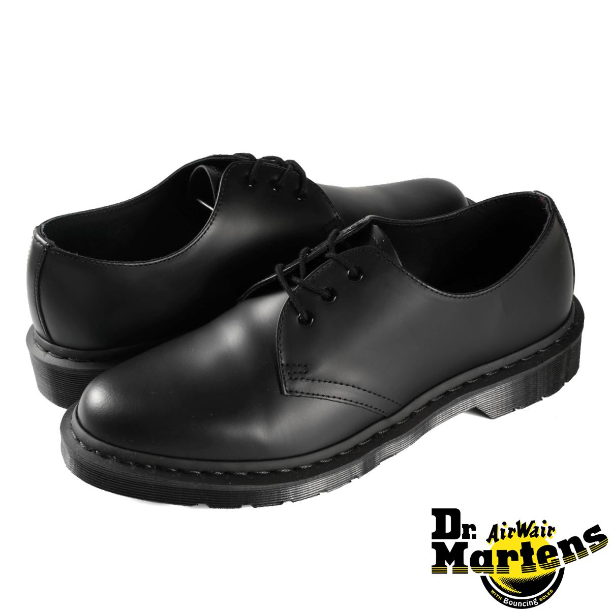 Dr.Martens 1461 3EYE GIBSON SHOES R14345001 【メンズ】【レディース】 ドクターマーチン 3アイレット ギブソンシューズ BLACK MONO
