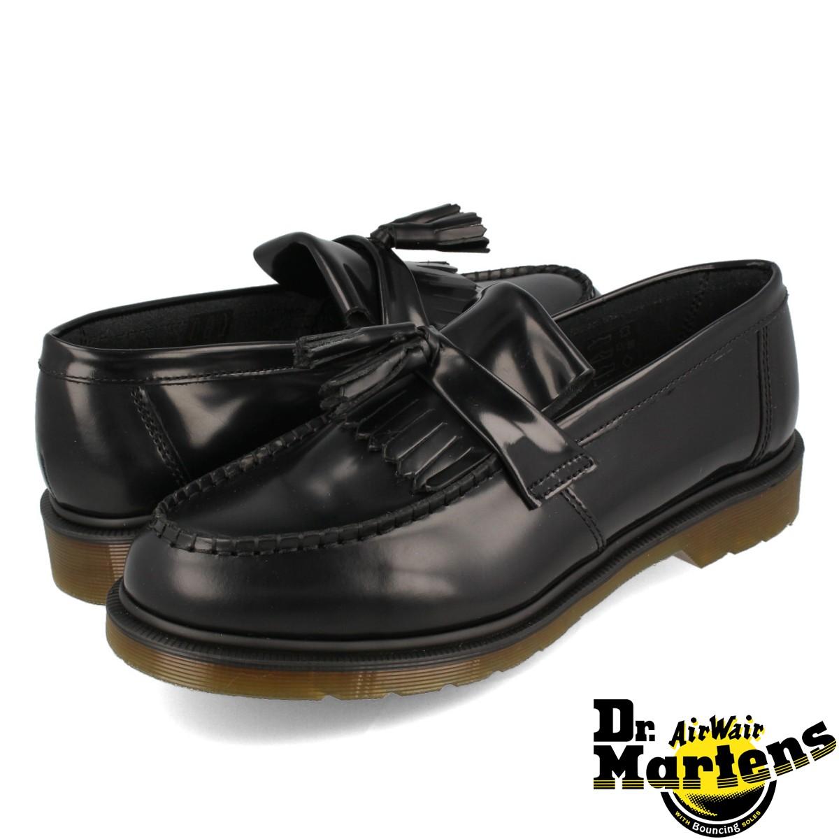 【送料無料】【Dr.Martensドクターマーチン】定番モデル タッセルローファー メンズ レディース ブラック 黒 24369001 Dr.Martens ADRIAN TASSEL LOAFER R24369001 ドクターマーチン アドリアン タッセル ローファー BLACK POLISHED SMOOTH