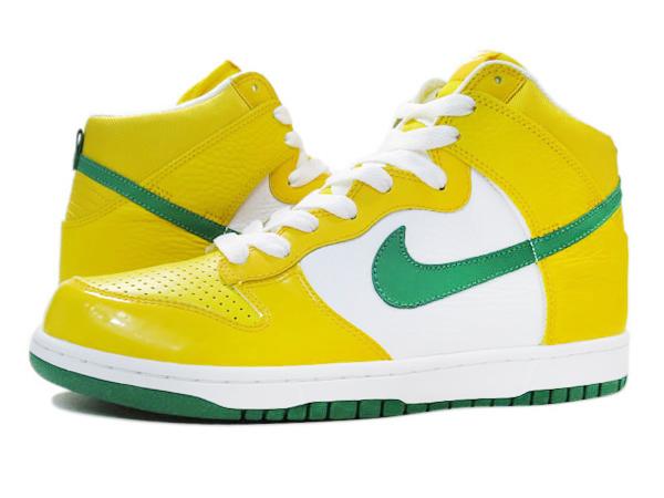 bf5667cdf458d ... Shoes foULzVUy NIKE DUNK HIGH VARSITY MAIZE PINE GREEN WHITE .