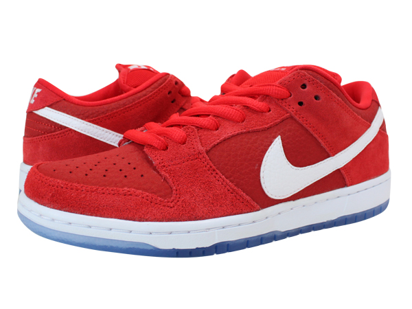 NIKE DUNK LOW SB PREMIUM Nike dunk low premium SB CHALLENGE RED/WHITE