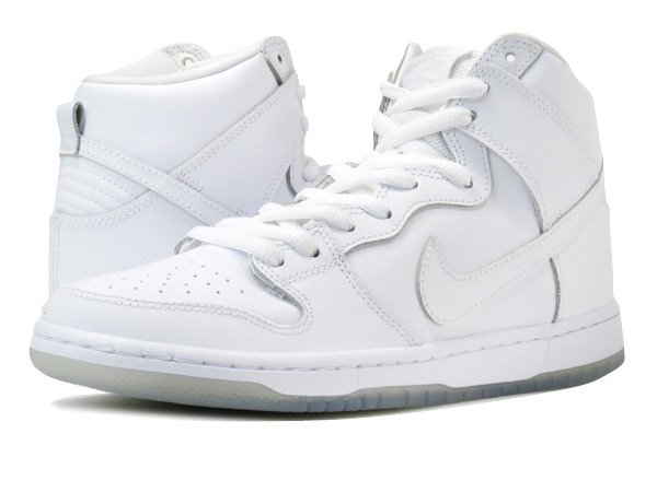 NIKE DUNK HIGH PRO SB WHITE/LIGHT BASE GREY/WHITE