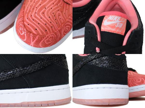 Nike-sb Dunk-low-premium Atom-rosa Svart-hvitt Marked xUywnwJR
