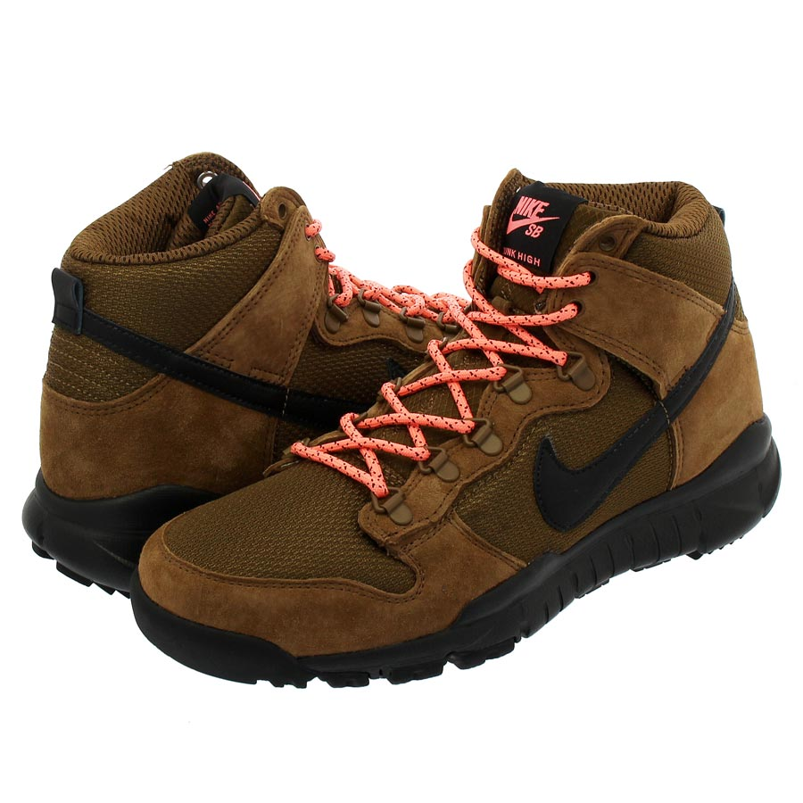 NIKE SB DUNK HIGH BOOT ナイキ SB ダンク ハイ ブーツ MILITARY BROWN/BLACK/DARK KHAKI 536182-203
